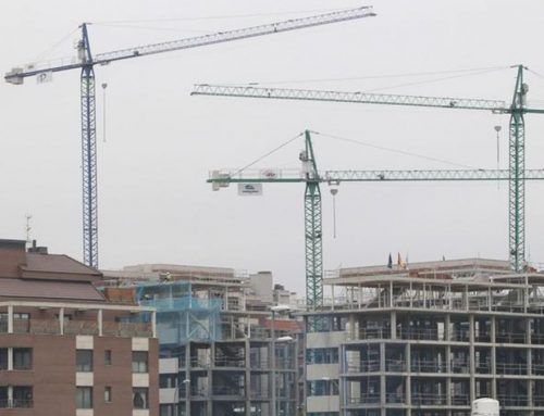 Cranes in the construction sector once again populate Spain in 2016